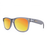 Knockaround Fort Knocks Sunglasses - Frosted Grey / Red Sunset