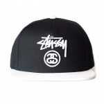 Stussy Stock Lock Snapback - Black