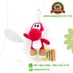 พวงกุญแจ Yoshi สีแดง 4 นิ้ว [Super Mario Bros.]