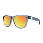 Knockaround Premiums Sunglasses - Frosted Grey / Red Sunset