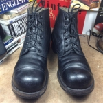 Vintage 1960 us Army service boots BF Goodrich sole size 8R