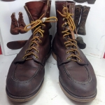 Vintage LL bean hunting boot made in USA size 8.5