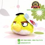 ตุ๊กตา Angry Birds Chuck 4 นิ้ว จุ๊บกระจก [Rovio]