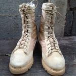 รองเท้า Corcoran บูตคอมแบตสิงห์ทะเลทราย Vibram USA US ARMY size 6