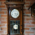 นาฬิกา3ลานเสาโรมันรหัส31258wc