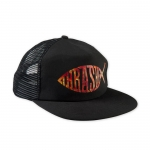 Thrasher Fish Mesh Snapback - Black