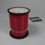 สีแดง สายไฟอ่อน 18 AWG (แบ่งขายช่วงละเมตร)