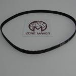 Belt closed loop rubber GT2 timing belt 400-2GT-6 teeth 100 length 400mm width 6mm