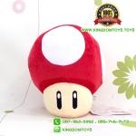 ตุ๊กตาเห็ดมาริโอ้ สีแดง 8 นิ้ว [Super Mario]
