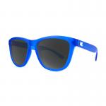 Knockaround Premiums Sunglasses - Frosted Cobalt / Smoke