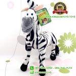 ตุ๊กตา ม้าลาย Madagascar สูง 12 นิ้ว [RUSS]