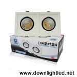 ดาวน์ไลท์ LED IWACHI 2x12w (แสงขาว)