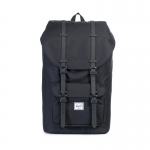 Herschel Little America - Black/Rubber