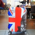 (ขนาด XL) ผ้าคลุมกระเป๋าเดินทาง ขนาด 29 - 32 นิ้ว มี 10 ลาย 10 แบบให้เลือก