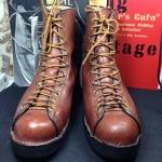 SOLD Vintage 1980 Danner lineman boot size 8 D ด้านใน26 cm