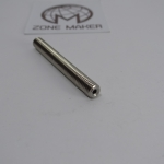 M6x50mm stainless steel feed tube nozzle throat for 1.75mm filament + PTFE Pipe inside