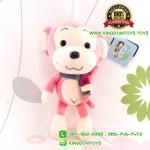 ตุ๊กตาลิงสีชมพูอ่อน 9 นิ้ว [Little Cucu]