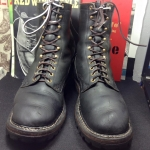 Vintage white's custom boots smoke jump size 12D