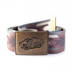 Vans Reverse Web Belt - Native Camo