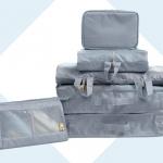 ชุดจัดกระเป๋าเดินทาง 7 ใบ เย็บอย่างดี จัดระเบียบกระเป๋าเดินทาง ท่องเที่ยว ใส่เสื้อผ้า ชุดชั้นใน อุปกรณ์ห้องน้ำ กางเกงใน รองเท้า เครื่องสำอาง อุปกรณ์ไอที