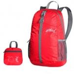 กระเป๋าเป้พับได้ รุ่นใหม่ สะพายหลังได้ น้ำหนักเบา พกพาสะดวก ทำจากไนล่อนคุณภาพสูง กันน้ำ ทนทาน เหมาะสำหรับเดินทาง และทำกิจกรรมโปรด (Lightweight Foldable Waterproof Backpack)