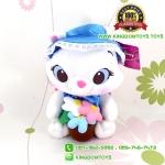 ตุ๊กตาแมวมารี Flower Garden ชุดน้ำเงิน 10 นิ้ว [Disney]