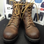 Chippewa vintage safety boot made in USA size 7.5M ด้านใน24 cm