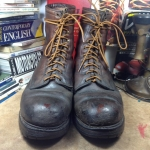 Red wing 2218 logger boots size 11D /29cm หัวเหล็กราคา 1290