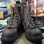 Vintage smoke jump boots size7.5