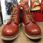 SOLD รองเท้า RED WING 8166 เบอร์ 9D