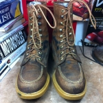 VINTAGE WOLVERRINE MADE IN USA SIZE 7D