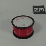 สีแดง สายไฟอ่อน 24 AWG (แบ่งขายช่วงละเมตร)