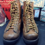 Vintage Chippewa line man made in USA size 6D