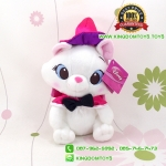 ตุ๊กตา แมวมารี Marie 10 นิ้ว ชุดฮาโลวีน [Disney]
