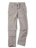 Craghoppers Nosilife Pro Capri Convertible Women Trousers - Mushroom