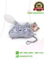 พวงกุญแจห้อยกระเป๋า โตโตโร่ Totoro ขนนุ่ม 6 นิ้ว [B]