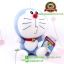 ตุ๊กตา โดเรม่อน นั่ง ปากจู๋สีฟ้า 7 นิ้ว [Fujiko Pro] thumbnail 3