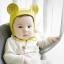 Baby Touch หมวกผูก หูกลม (รุ่นพรีเมี่ยม) (Hat - EG) thumbnail 4