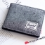 Herschel Hank Wallet - Scattered Raven Crosshatch / Black Synthetic Leather thumbnail 4