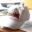 Thrasher Flame Logo Strapback Hat - White thumbnail 2