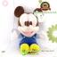ตุ๊กตามิกกี้เมาส์ เบบี้ ชุดเอี๊ยม TC 11 นิ้ว [Disney] thumbnail 1