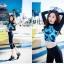 [พร้อมส่ง]ชุดว่ายน้ำแขนยาว+ขายาวกางเกง5ส่วน+บีกินี เสื้อโทนสีฟ้าม่วง กางเกงสีดำ thumbnail 3