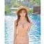-- สีชมพูอ่อน -- ชุดว่ายน้ำเอวสูง ลายดอกไม้สวยๆ thumbnail 2