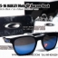 Oakley Garage Rock Moto GP Collection - Polished Black / Ice Iridium Polarized Lens thumbnail 2