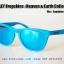 Oakley Frogskins : Heaven & Earth Collection - Matte Sky / Sapphine Iridium Lens thumbnail 2