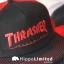 Thrasher Logo Mesh Cap - Black / Red thumbnail 3