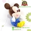ตุ๊กตามิกกี้เมาส์ เบบี้ ชุดเอี๊ยม TC 11 นิ้ว [Disney] thumbnail 4