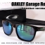 Oakley Garage Rock - Polished Black / Jade Iridium Lens thumbnail 2