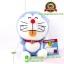 ตุ๊กตา โดเรม่อน นั่ง แลบลิ้นสีส้ม สีฟ้า 7 นิ้ว [Fujiko Pro] thumbnail 1