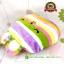หมอนรองคอกระต่ายสายรุ้ง [CT-Toys] [B] thumbnail 4